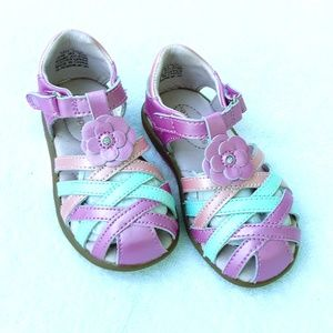 ☆ Stride Rite SRT Lily Sandal Real Leather